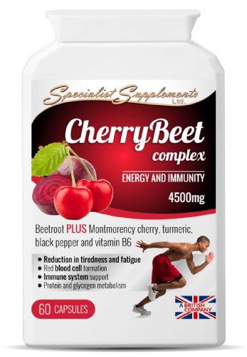 CherryBeet Complex, Energy & Immunity Support 4500mg